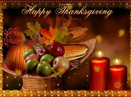 From all of us... Happy Thanksgiving!